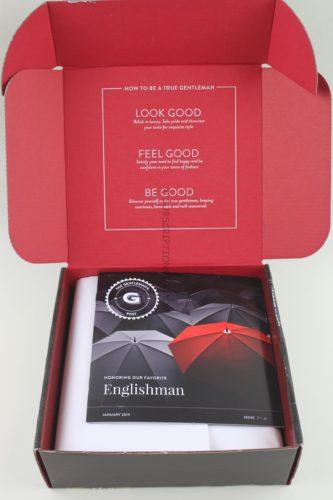 Gentleman's Box January 2019 Review