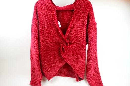 RD Style Red Sweater