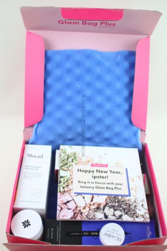 Ipsy Glam Bag Plus January 2019 Review Subscription Box Mom