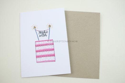 """Make A Wish Birthday Card"""