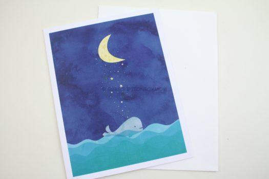 """""""Whale Deams Card"""""""