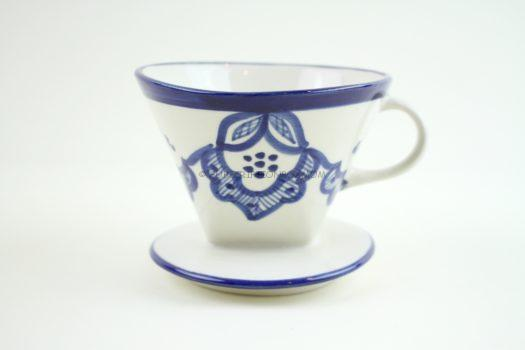 Ceramic Hand-Painted Coffee Dripper