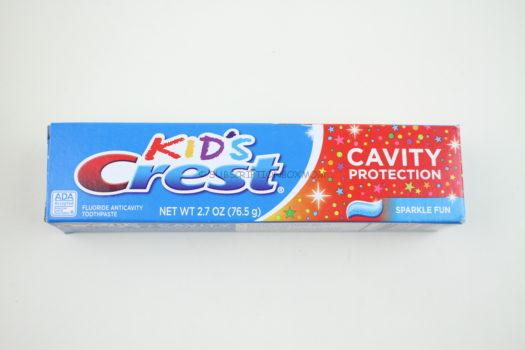 Kid's Crest Cavity Protection Toothpaste