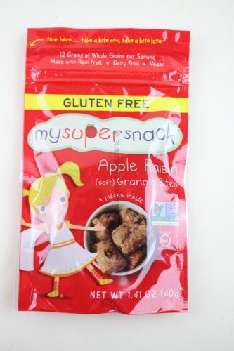 My Super Snack Apple Raisin Soft Granola Bites