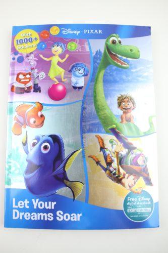Disney Pixar Let Your Dreams Soar (Sticker Treasury & Coloring)