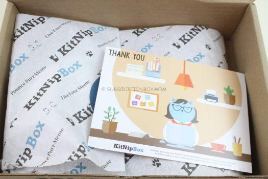 KitNipBox February 2019 Cat Subscription Box Review