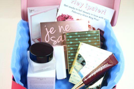 Ipsy Glam Bag Plus February 2019 Review - Subscription Box Mom