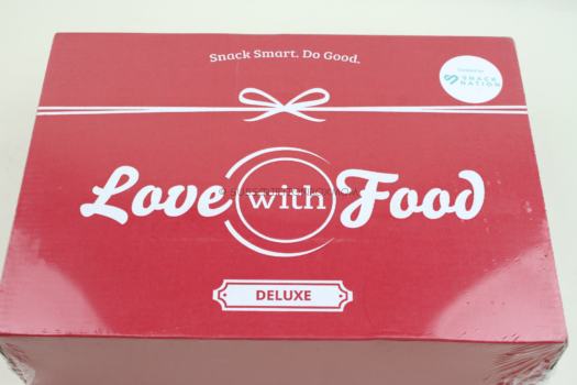 March 2019 Love with Food Deluxe Review