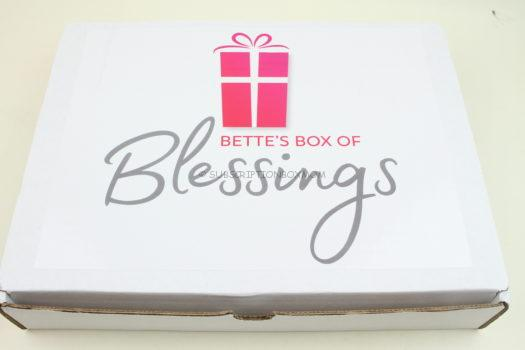 Bette's Box of Blessings March 2019 Review