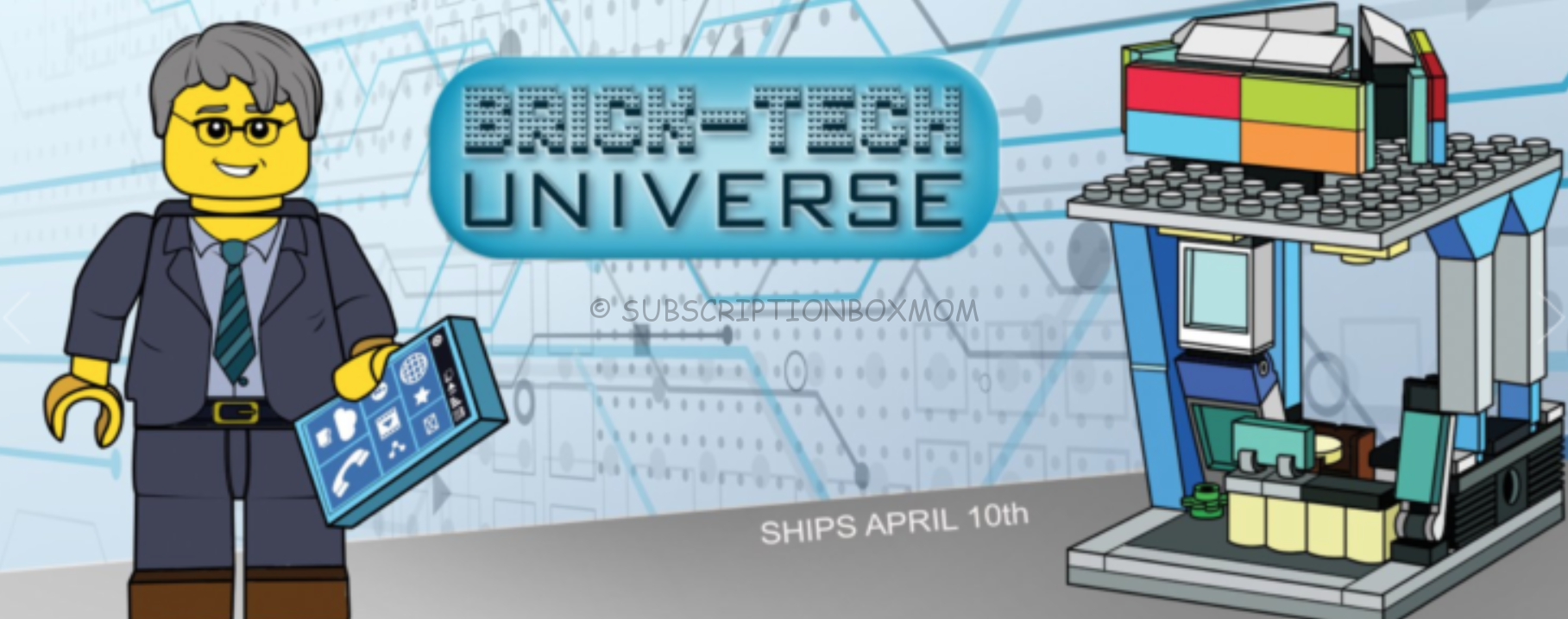 Brick Loot April 2019 Spoilers