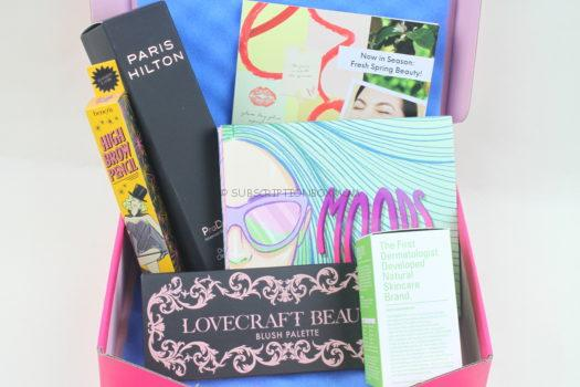 Ipsy Glam Bag Plus April 2019 Review