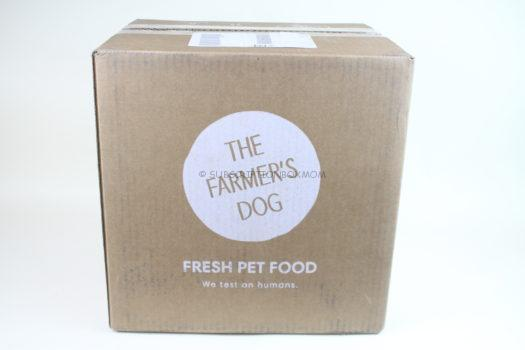 The Farmer's Dog Fresh Dog Food April 2019 Review