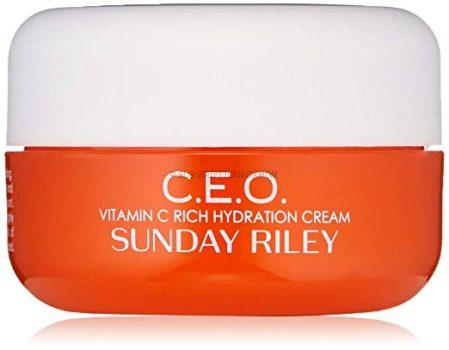 SUNDAY RILEY C.E.O. Vitamin C Rich Hydration Cream.