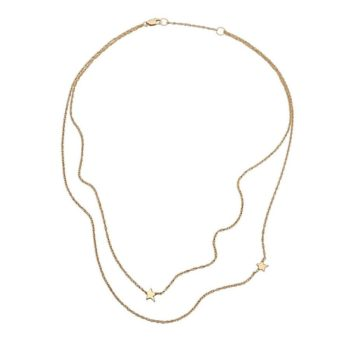 Jennifer Zeuner Double Star Necklace
