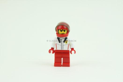 Ferrari Driver - 100% LEGO Minifigure