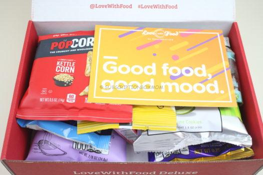 May 2019 Love with Food Deluxe Review