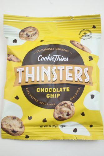 Cookie Thins Thinsters Chocolate Chip Cookies