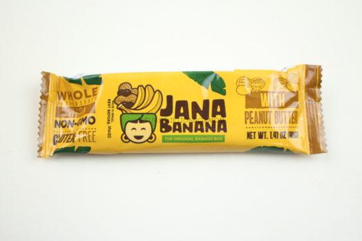 Jana Banana Bar with Peanut Butter