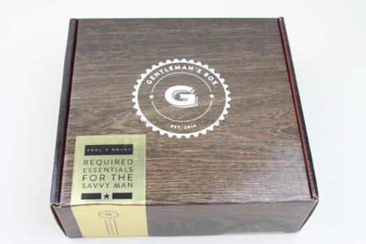 Gentleman's Box June 2019 Review