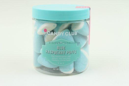 Blue Raspberry Puffs