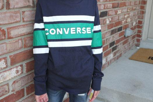 Converse Long Sleeve Graphic Tee
