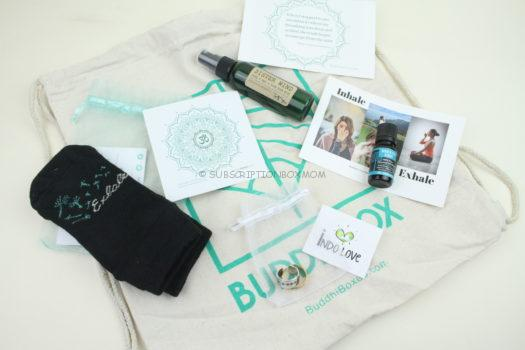 BuddhiBox Yoga September 2019 Review