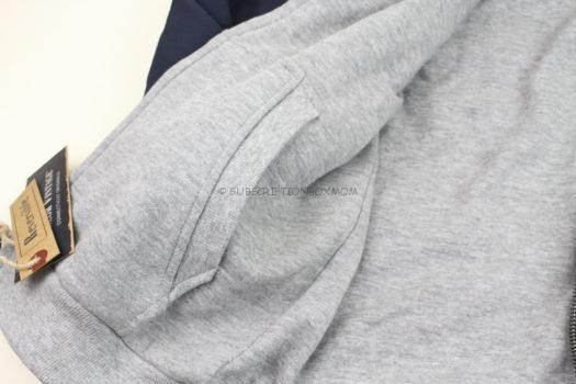 Tailor Vintage Rilee Reversible Sweater Hoodie