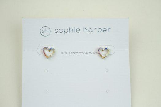 Sophie HarperRainbow Heart Studs