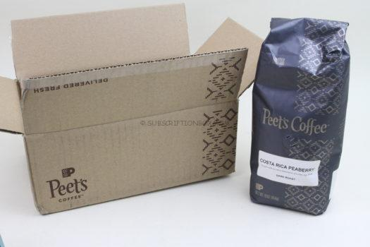 Peet's Coffee Small Batch Subscription October 2019 Review