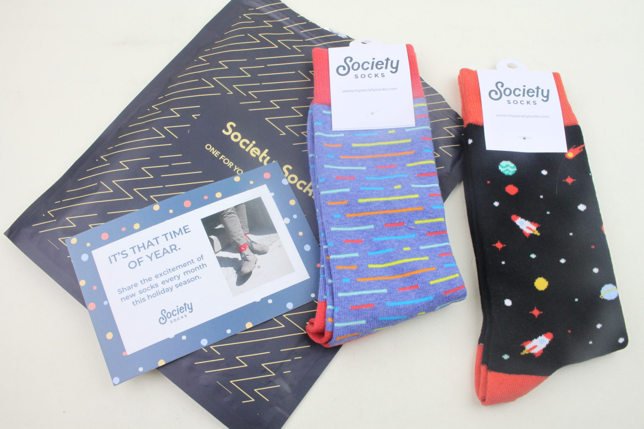 Society Socks November 2019 Review