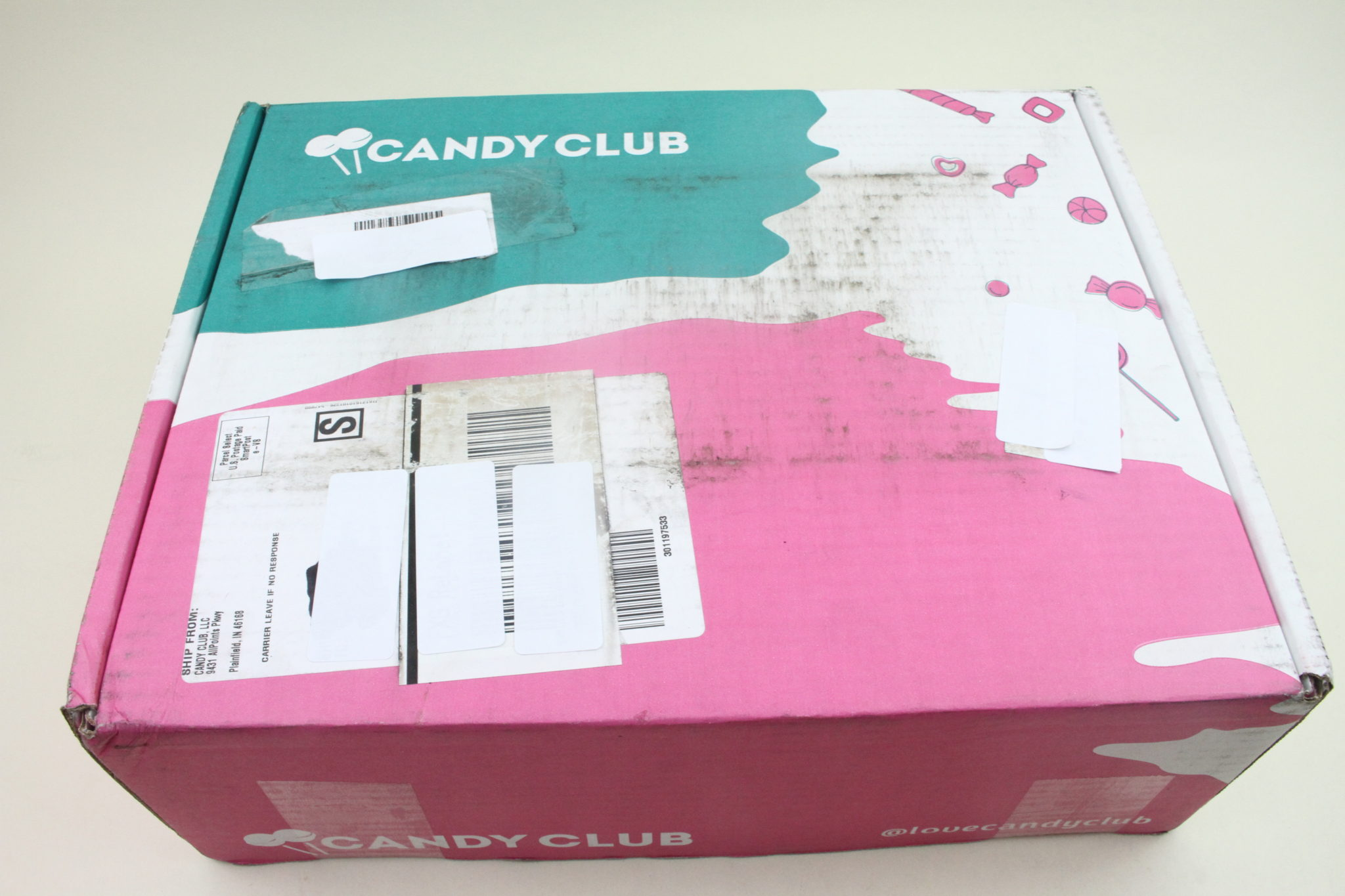 November 2019 Candy Club Subscription Box Review
