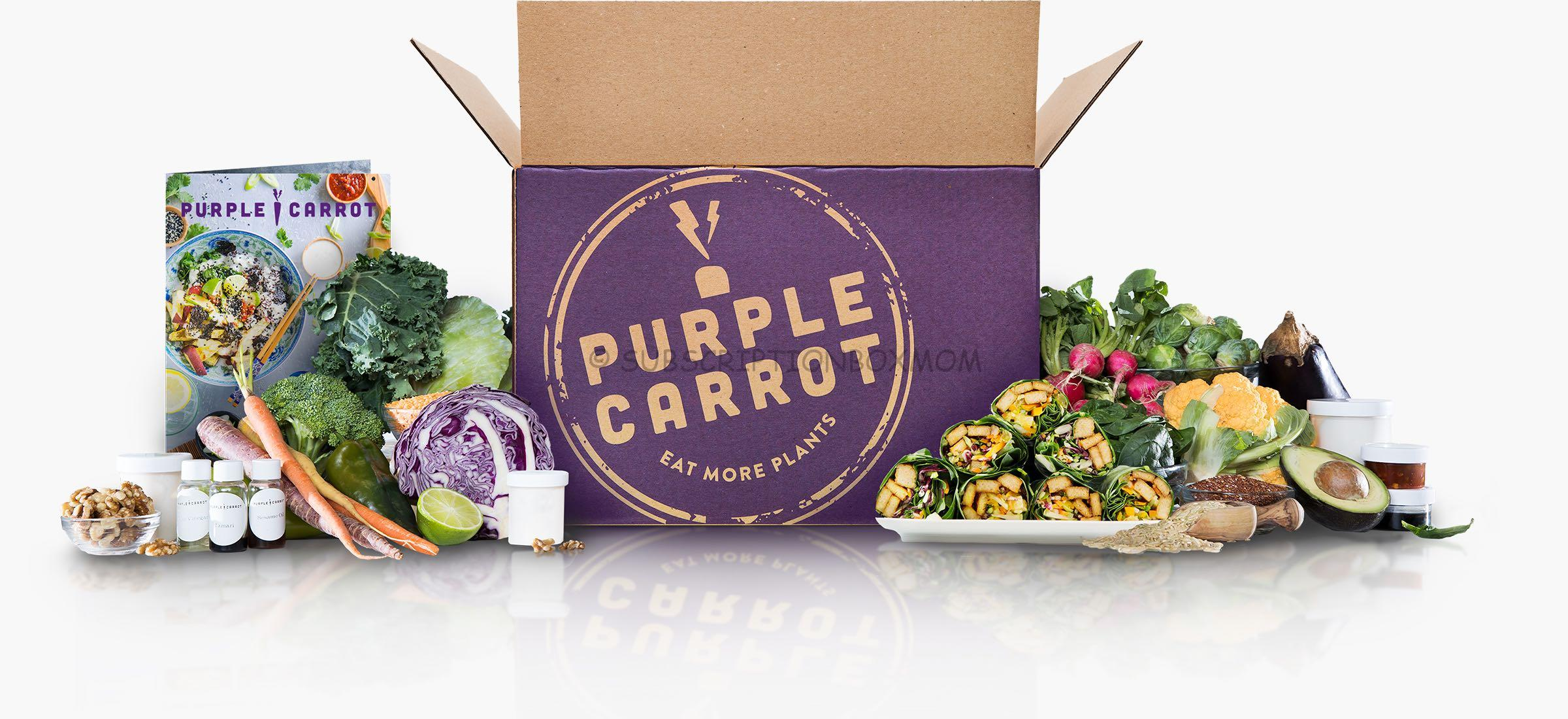 New Purple Carrot Thanksgiving Box 2019