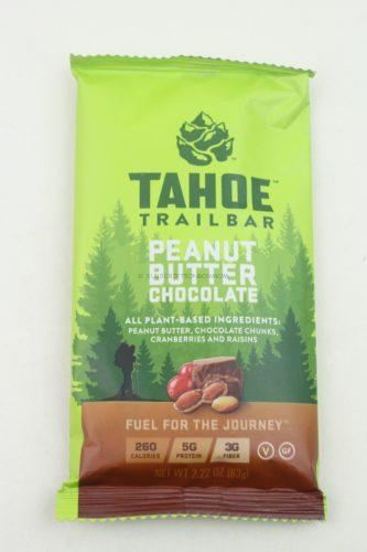 Tahoe Trailbar Peanut Butter Chocolate Peanut Butter and chocolate