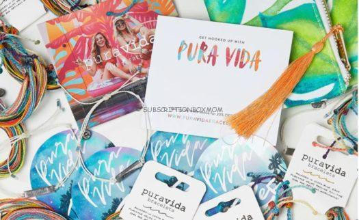 Pura Vida January 2020 Spoilers Coupon Code Subscription Box Mom