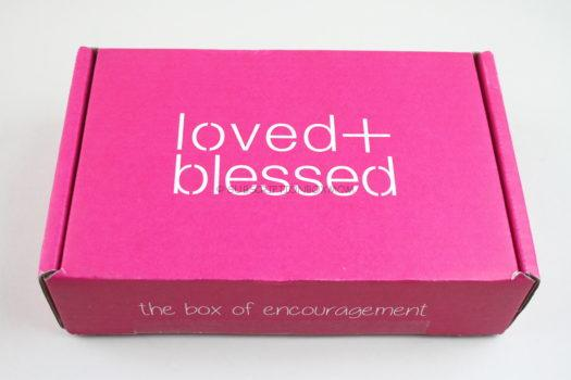 Loved & Blessed April 2020 Review