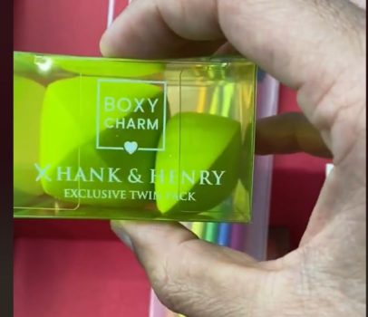 Boxycharm X Hank & Henry Exclusive Twin Pack Beauty Sponge