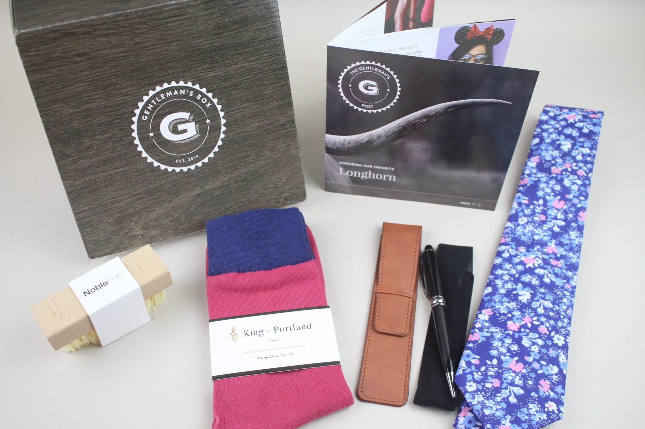 Gentleman's Box May 2020 Subscription Box Review