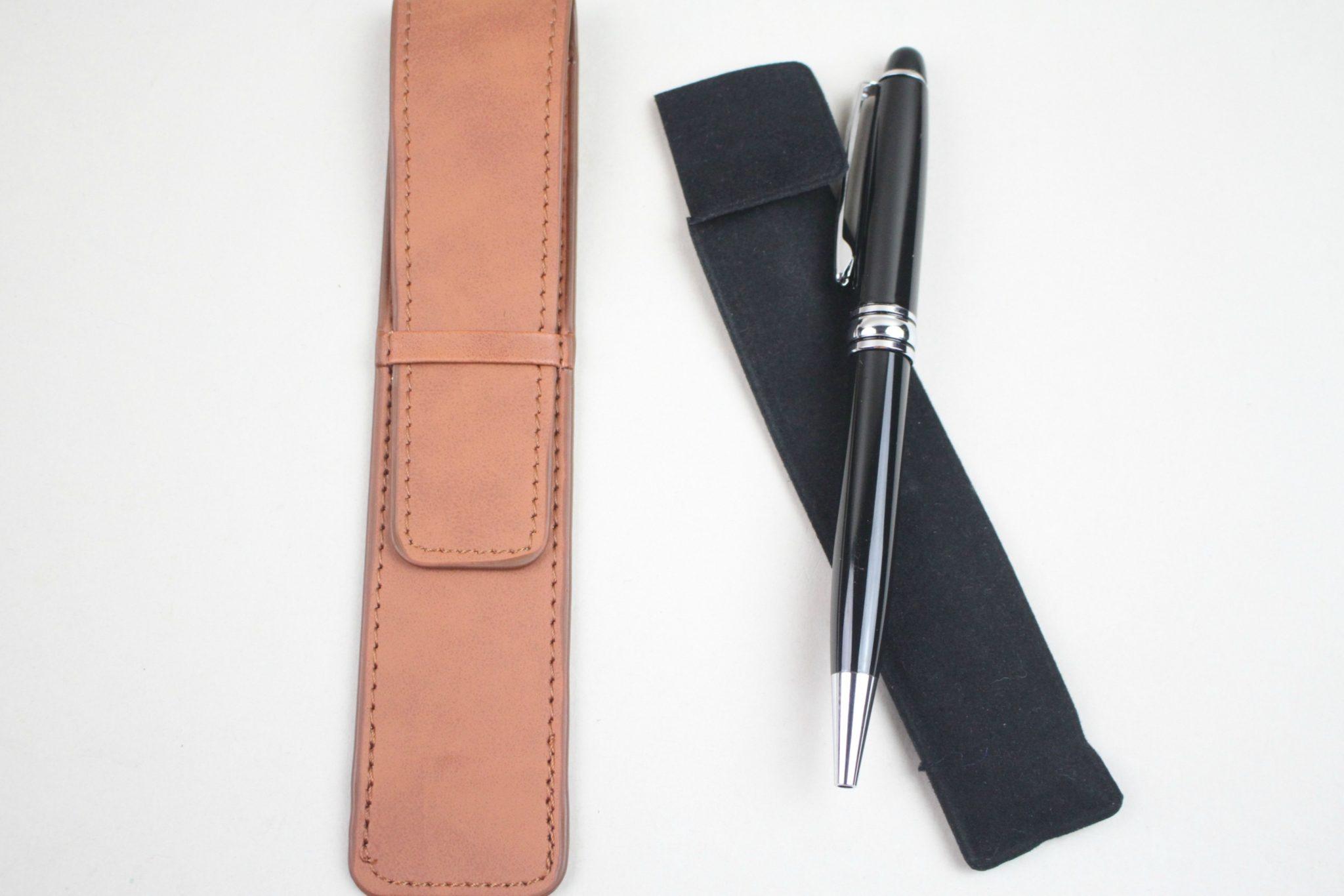 Bryer Leather Pen & Pen Case