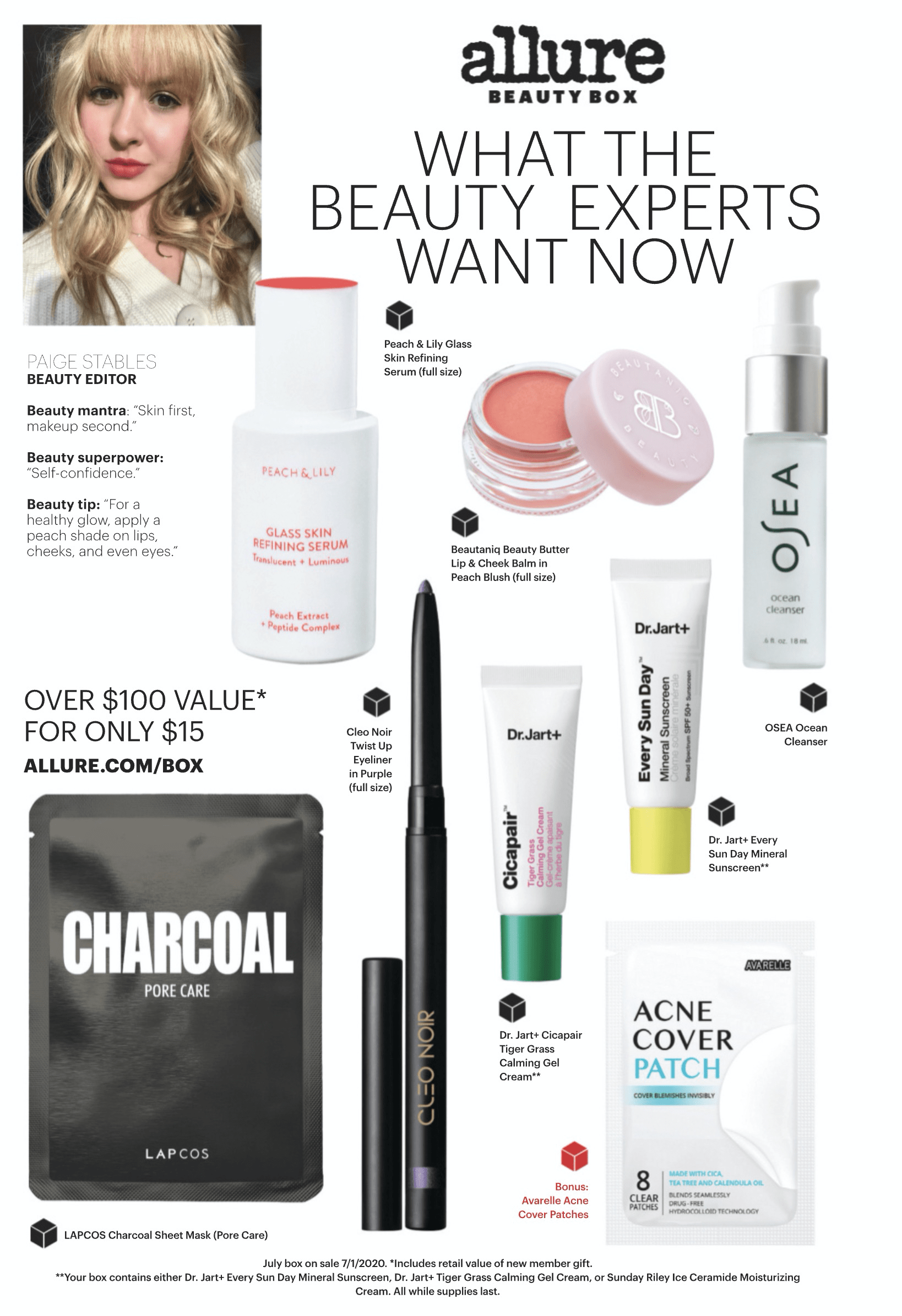 Allure Beauty Box July 2020 Spoilers Coupon Code Subscription Box Mom