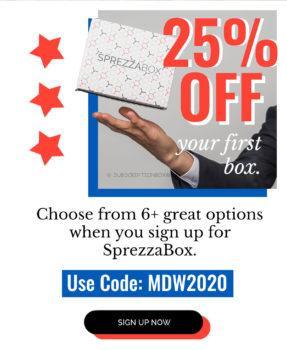SprezzaBox Memorial Day 2020 Coupon Code