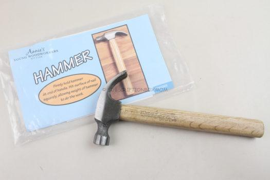 Annie's Young Woodworkers Kit Club June 2020 Review