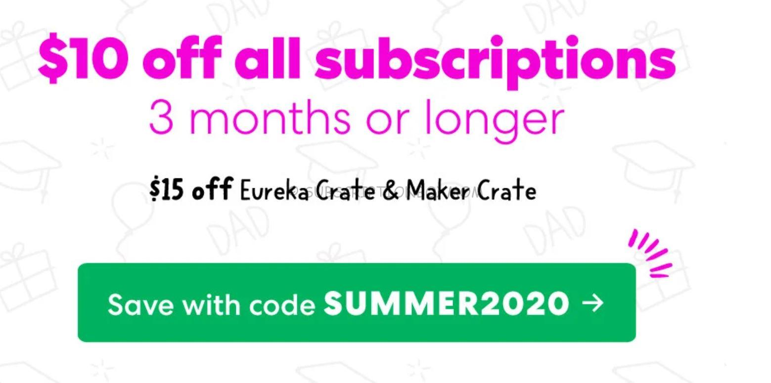 KiwiCo June 2020 Coupons