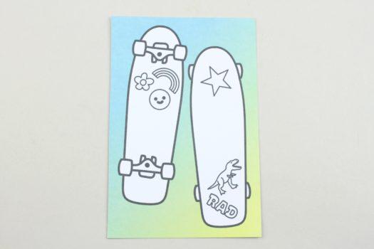 Coloring Postcard