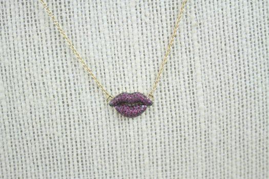 Sophie Harper Lips Pendant