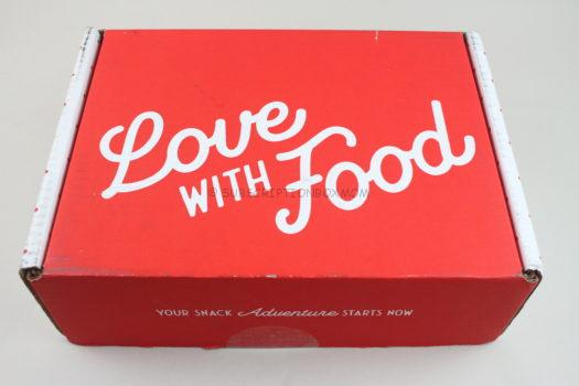 Love with Food August 2020 Review