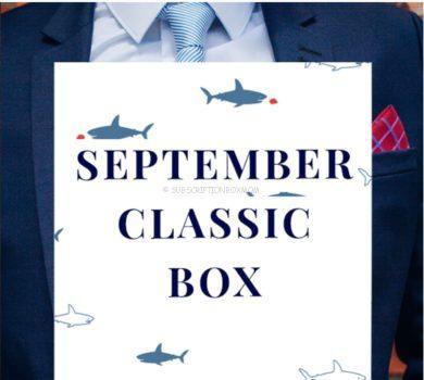 Gentleman's Box September 2020 Spoilers