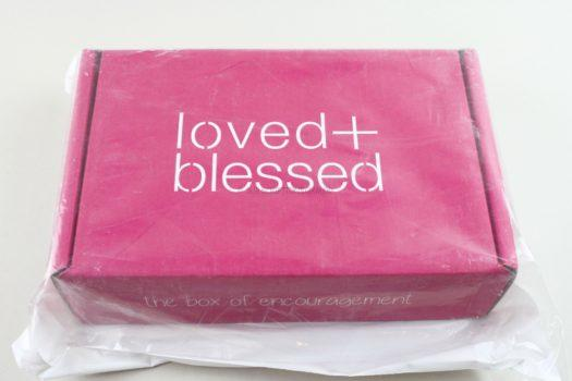 Loved & Blessed October 2020 Review