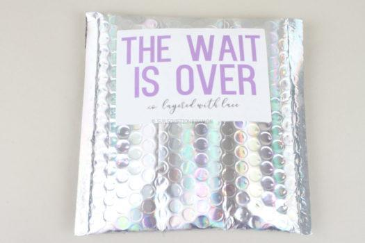 Layered with Lace October 2020 Review