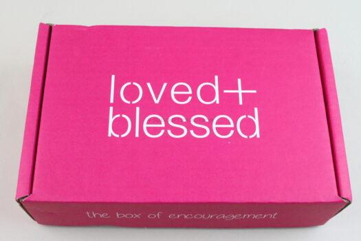 Loved & Blessed April 2021 Review
