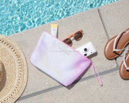 Poolside Water Resistant Pouch